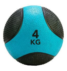 Tunturi Medicine Ball 4kg, Blue/Rack