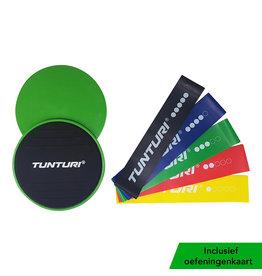 Tunturi Resistance & Core Sliders Set