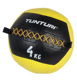 Tunturi Wall Ball 4kg Yellow