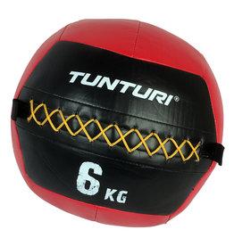 Tunturi Wall Ball 6kg Red