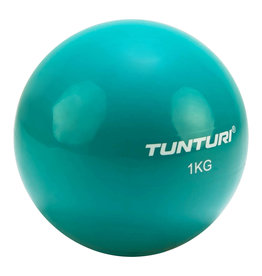 Tunturi Yoga Toningbal 1kg, Turquoise