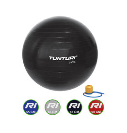 Tunturi Gymball Black 55 - 90 cm