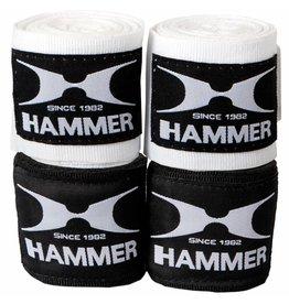Hammer Boxing Hammer Boxing Bandages - per Paar - wit - 2,5 meter