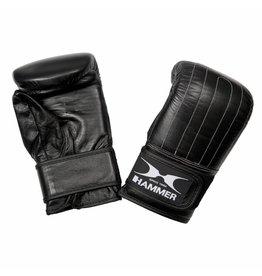 Hammer Boxing Hammer Boxing Zakhandschoenen Punch - Leer - Voorgevormd - Zwart - S/M