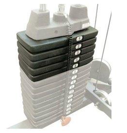 Body-Solid 22,5KG Extra gewicht voor Body-Solid krachtstations