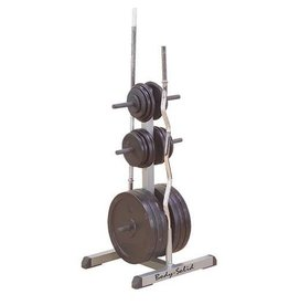 Body-Solid Body-Solid Standard Plate Tree & Bar Holder GSWT