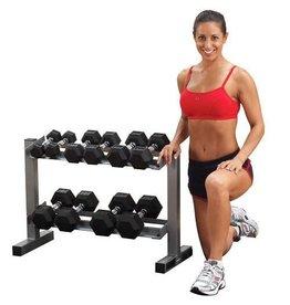 Powerline Dumbbell Rack - voor 6 paar