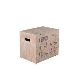 Body-Solid Body-Solid 3-In-1 Houten Plyobox BSTWPBOX