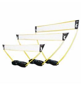 Hammer Fitness 3-in-1 set voor volleybal, badminton en tennis