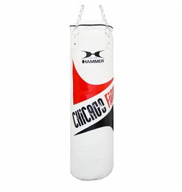 Hammer Boxing Hammer Bokszak Chicago Fight white 100 x 30 cm