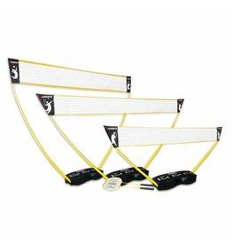 Hammer Fitness 3-in-1 set PRO voor volleybal, badminton en tennis