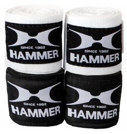 Hammer Boxing Hammer Boxing Bandages - per Paar - zwart - 4,5 meter