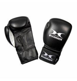 Hammer Boxing Hammer Boxing Bokshandschoenen PREMIUM FITNESS - buffelleer - zwart - 10 oz