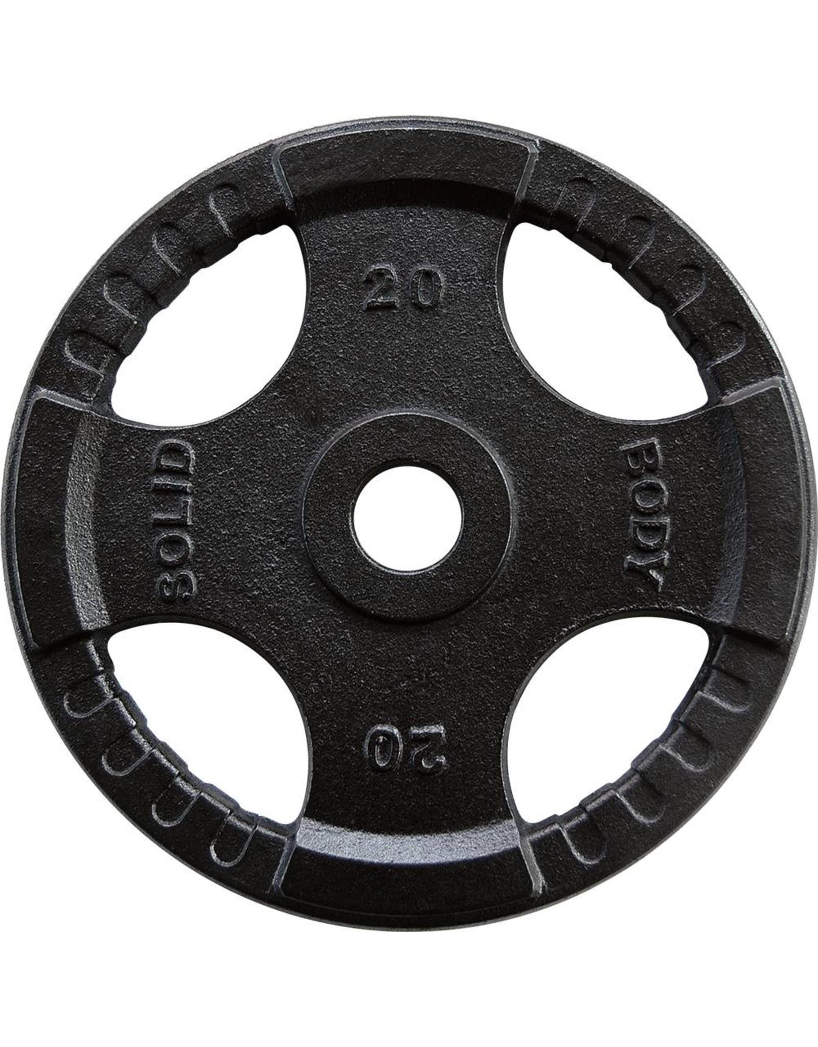 Body-Solid Body-Solid Olympische gietijzeren halterschijven 50 mm OPTK