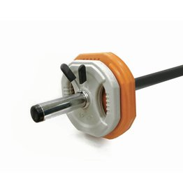 Toorx Fitness Bodypumpset - 10 kg - oranje/grijs