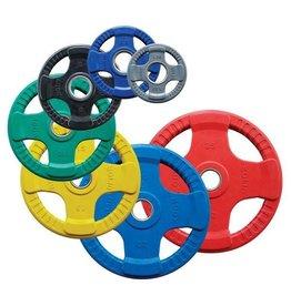 Body-Solid Body-Solid Gekleurde Rubberen Olympische Halterschijven 50 mm ORCK - per stuk