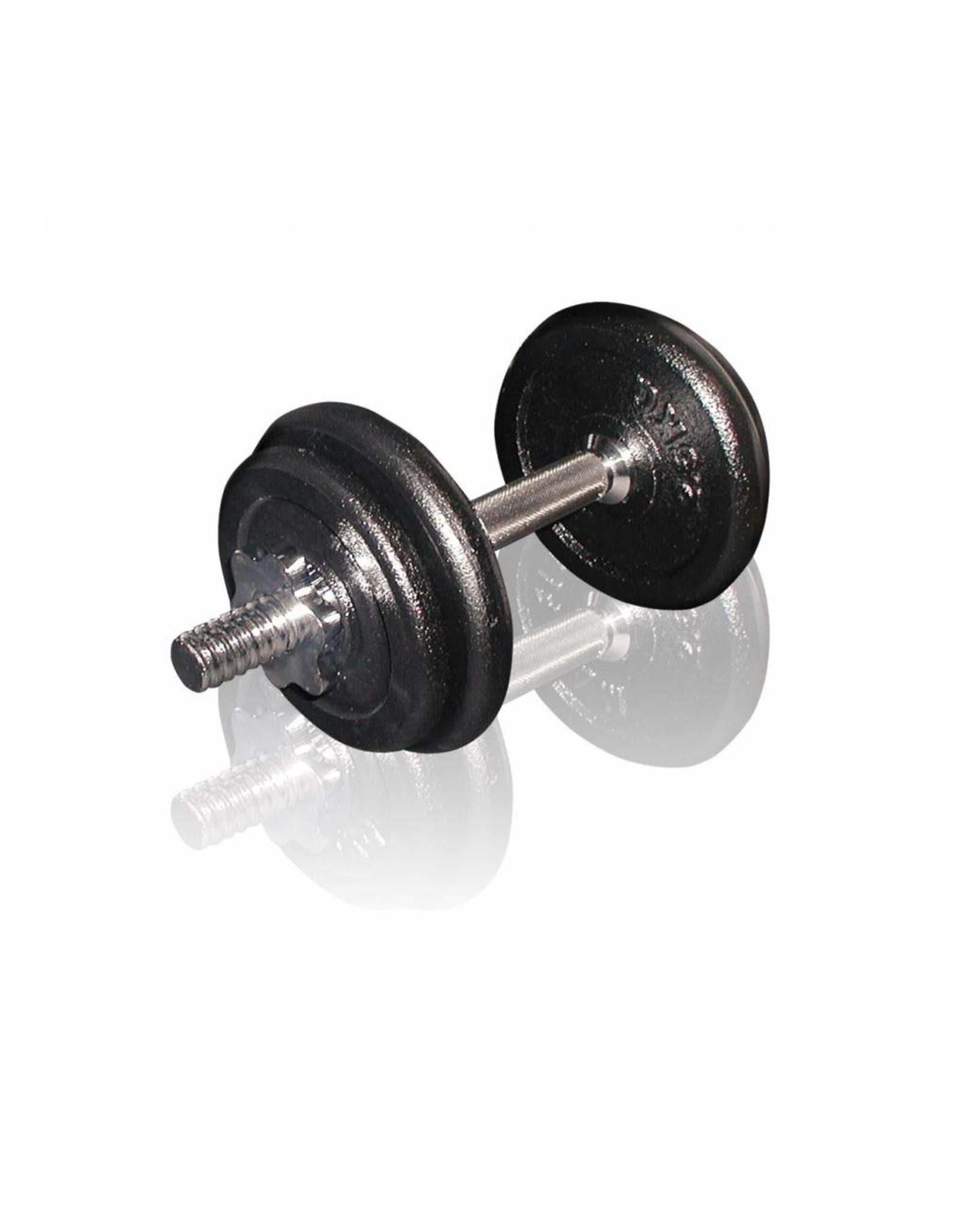 Toorx Fitness Toorx Fitness - Dumbbellset 10 kg - gietijzer - met Koffer