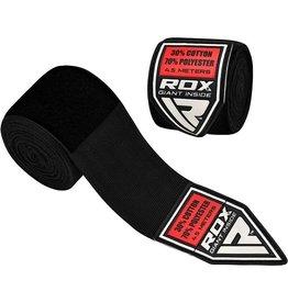 RDX Sports HW Professionele boksbandages Zwart