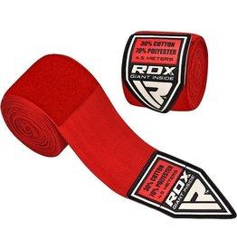 RDX Sports HW Professionele boksbandages Rood