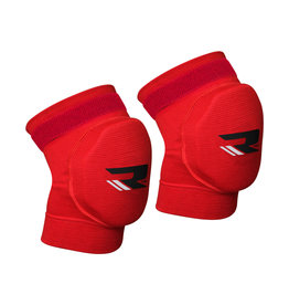 RDX Sports K1 Kniebeschermers - Gelbescherming Rood