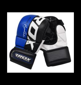 RDX Sports T6 Sparringhandschoenen REX Blauw