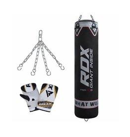 RDX Sports Training Bokszak PB-X1B - incl. ketting en zakhandschoenen 4 of 5 ft