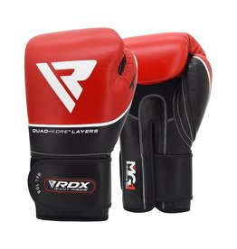 RDX Sports Bokshandschoenen Leer T9 Rood