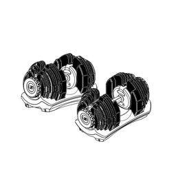 Bowflex SelectTech losse schijven 552i 0,57 - 3,41 kg