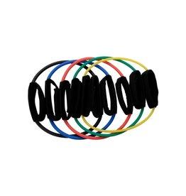 Body-Solid Weerstandsband - Ankle Cuffs Zeer licht - Zeer zwaar