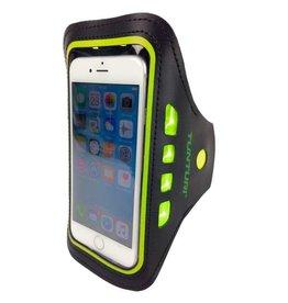 Tunturi LED Telephone Sport Armband Yellow