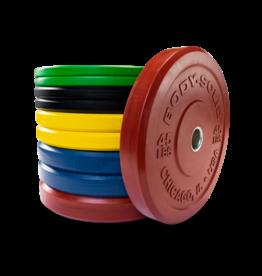 Body-Solid Chicago Extreme Gekleurde Olympische Bumper Plates