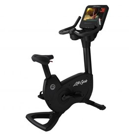 Life Fitness Life Fitness Platinum Club Series Lifecycle upright bike met Discover SE3HD Console in Black Onyx