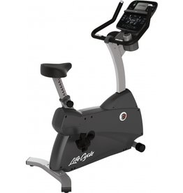 Life Fitness C3 Lifecycle upright bike met Track Connect Console