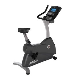 Life Fitness C3 Lifecycle upright bike met Go Console