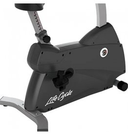 Life Fitness C1 Lifecycle upright bike met Track Connect Console