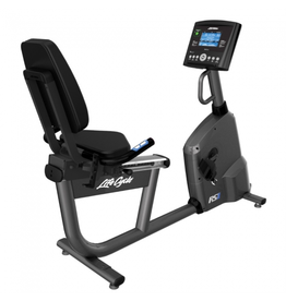 Life Fitness RS1 Lifecycle recumbent bike met Go Console