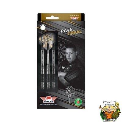 Bull's Pavel Jirkal 90% Black Titanium 23 gram Steeltip