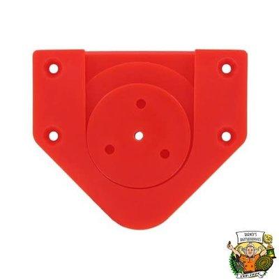 Bull's Rotate Fixing Bracket Set - Red
