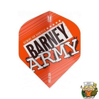 Target Barney Army Pro Ultra Orange Std. Flight