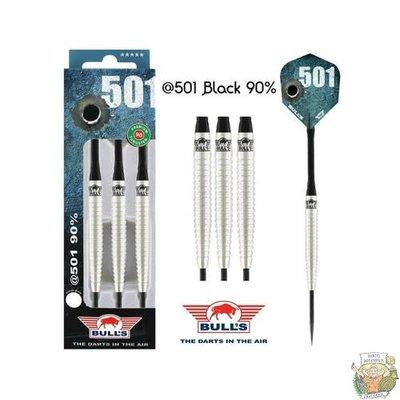 Bull's @501 Black 90% 22g Steeltip