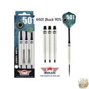Bull's @501 Black 90% 26g Steeltip