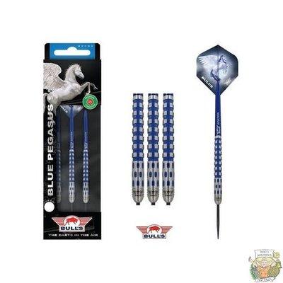 Bull's Blue Pegasus 95% C 22 gram Steeltip