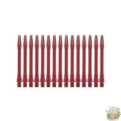 Bull's 5-Pack SIMPLEX COLOUR Aluminium Medium Red