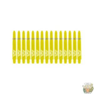 Bull's 5-Pack NYLON shaft In Between+ Ring - Yellow