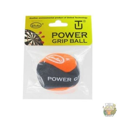 Bull's Powergrip Ball Black-Orange