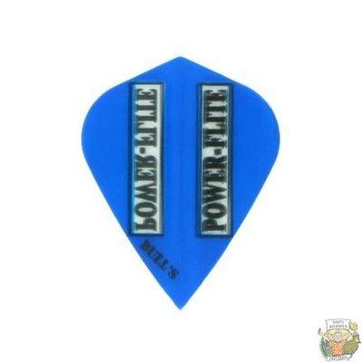 "Bull's POWERFLITE L Transparent Kite ""Blue"""