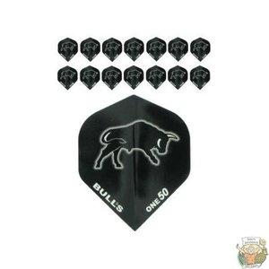 "Bull's 5-Pack ONE-50 Black ""Bull Printed"""