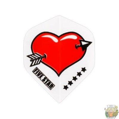 "Bull's FIVE-STAR Flight ""Heart"""