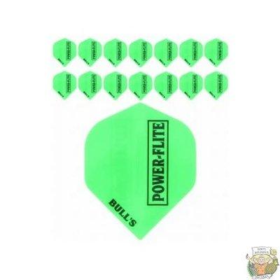 "Bull's 5-Pack POWERFLITE Solid ""Green"""