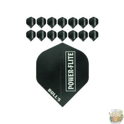 """Bull's 5-Pack POWERFLITE Solid """"Black-W"""""""